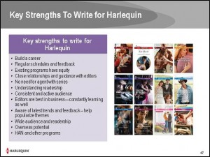 Key Strengths to Write for Harlequin