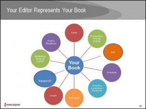 Your Editor Represents Your Book
