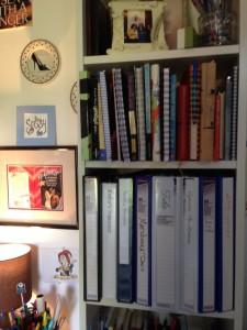 Kathy Garbera's writing space