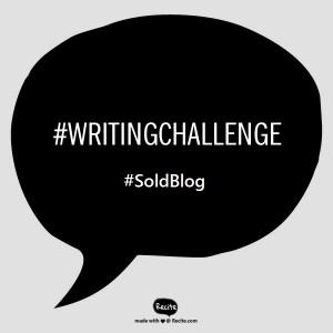 Writing Challenge Bubble