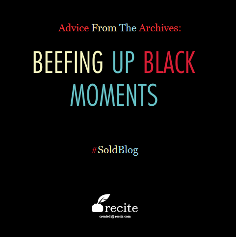 Beefing Up Black moments