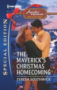 The Maverick's Christmas Homecoming cover