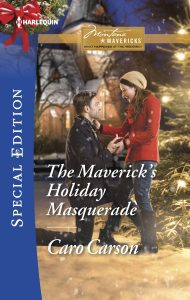 The Maverick's Holiday Masquerade cover