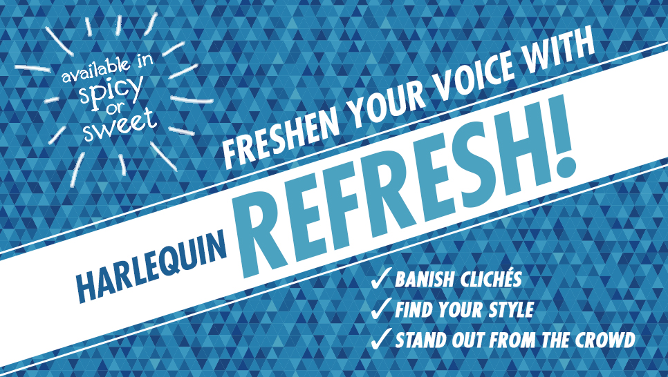 Harlequin Refresh logo