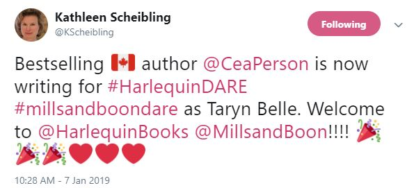Kathleen Scheibling Twitter status
