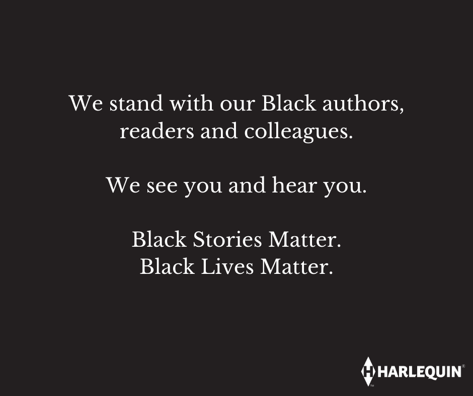 We stand with our Black authors, readers and colleagues.  We see you and hear you.  Black Stories Matter. Black Lives Matter.